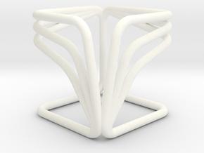 YOUCUBE R Pendant in White Processed Versatile Plastic