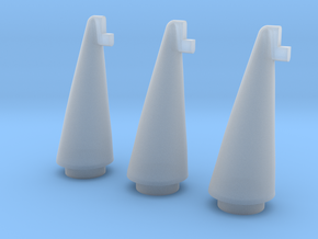 Proton Nose Cone- Set of 3 in Frosted Ultra Detail