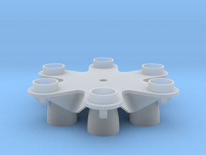 Proton Rocket Base in Smooth Fine Detail Plastic