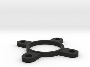Head Coupler Am6 in Black Natural Versatile Plastic