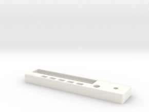 KR87 ADF Faceplate in White Strong & Flexible Polished