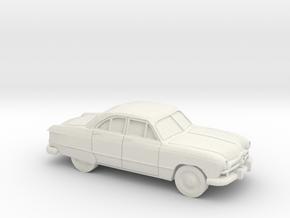 1/87 1949 Ford  Fordor Sedan in White Strong & Flexible