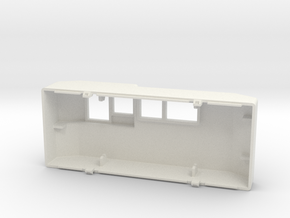 Gauge Back Cover V2 in White Natural Versatile Plastic