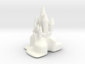 FANCY CITADEL in White Processed Versatile Plastic