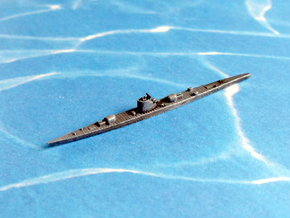 German Submarine Cruiser Type XIb 1/2400 in Smooth Fine Detail Plastic