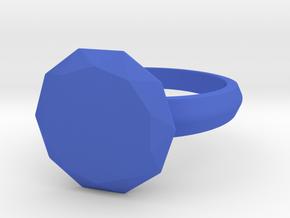 My best Friend Diamond in Blue Processed Versatile Plastic