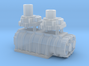 1/32 Scale 14-71 Kobelco Blower in Smooth Fine Detail Plastic
