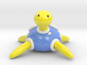 Shiny Shuckle in Coated Full Color Sandstone