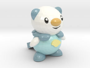 Oshawott in Glossy Full Color Sandstone