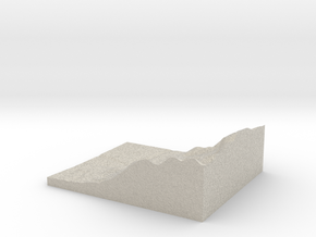 Model of Rockbrook Camp in Natural Sandstone