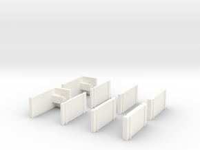 Kyosho Mini-Z Universal Body Support in White Strong & Flexible Polished