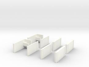 Kyosho Mini-Z Universal Body Support in White Processed Versatile Plastic