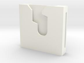 "Lightsaber Speed Clip 1.5"" in White Processed Versatile Plastic"