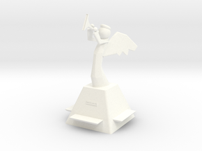 Rejoice Angel in White Processed Versatile Plastic
