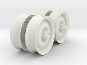 1-18 RIMS For 600x16 Both Sides in White Natural Versatile Plastic