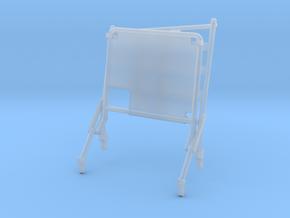 02C-LRV - Open Left Seat in Smooth Fine Detail Plastic