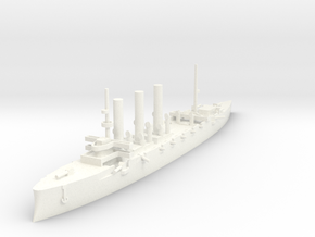 1/1000 Pallada-Class Cruiser in White Strong & Flexible Polished