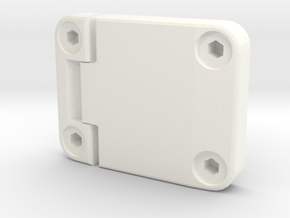 Door hinge new model D90 D110 Gelande 1:10 in White Processed Versatile Plastic