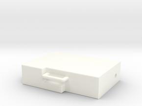 LCRU Part 1 in White Processed Versatile Plastic