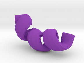 Helix cartoon with Glycine in Purple Strong & Flexible Polished