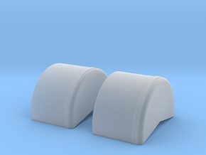 1/64 40 Inch Wheel Tubs in Smoothest Fine Detail Plastic