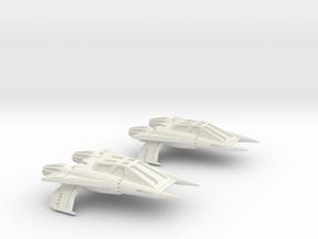 Thunder Fighter Quad 1/200 in White Natural Versatile Plastic