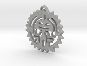 Creator Pendant in Aluminum