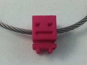 Turbo Buddy Bead - 5mm Hole in Pink Processed Versatile Plastic