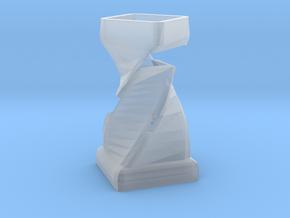 Flower Vase  in Smooth Fine Detail Plastic