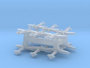 Spitfire Mk. I/V  (Triplet) 1/900 x4 in Smooth Fine Detail Plastic