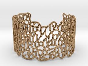 Cuff 'Patterns' in Polished Brass