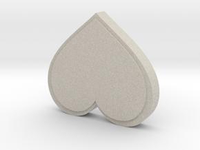 Valentine's Card-Making Box in Natural Sandstone