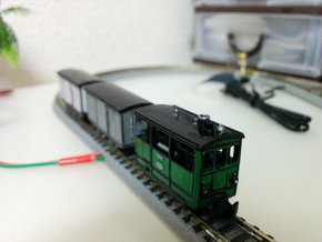 Henschel Tramway (6.5mm gauge) in Smooth Fine Detail Plastic