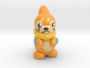 Buizel (smaller) in Glossy Full Color Sandstone