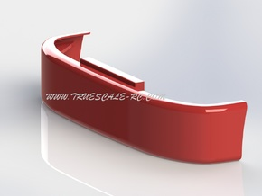 386 Style Bumper (TS-BP-0001) in White Strong & Flexible