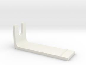 Pioneer PLX-1000 Overhang Gauge in White Natural Versatile Plastic