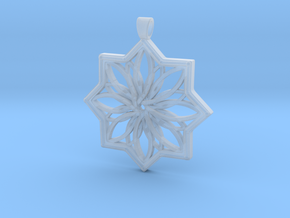 PENDANT 6 in Smooth Fine Detail Plastic