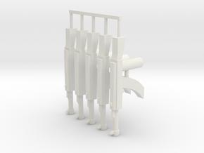 Elite AK-47 Pack in White Natural Versatile Plastic