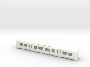 380 TOS Bodyshell N Gauge in White Strong & Flexible Polished