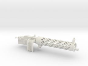 Spandau gun   1/8 in White Natural Versatile Plastic