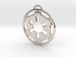 Imperial keychain in Platinum