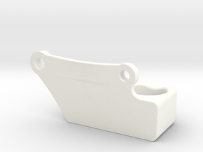 Remington 870 Shell Holder Right Side in White Processed Versatile Plastic