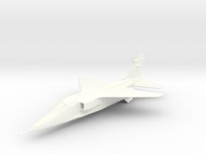 Jaguar A 1/144 in White Processed Versatile Plastic