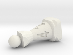 pawn to d4 in White Natural Versatile Plastic