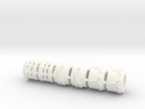 Beads in White Processed Versatile Plastic