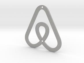 Airbnb House Symbol in Aluminum