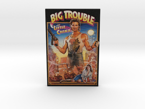 Big Trouble In Little China Fridge Magnet in Full Color Sandstone