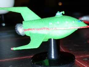 Planet Express in Green Processed Versatile Plastic