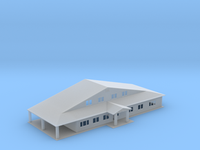 Truss Manufactor Building Z Scale in Smooth Fine Detail Plastic