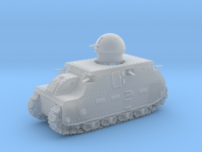 Fiat 2000 (15mm) in Smooth Fine Detail Plastic: 1:285 - 6mm